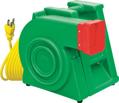 New Super Bear 2.0 HP Bounce House Inflatable Blower - Ships Free