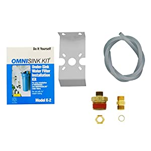 OmniFilter K2 Installation Kit for Converting OB1 and  OB5 to Undersink