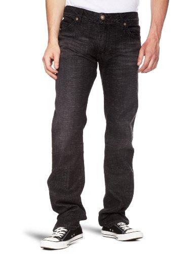 Robin's Jean Long Flap Relaxed Men's Jeans Dark W32INxL32IN