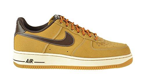 Nike Air Froce 1 Low Wheat Brown 488298 704 Mens Sneakers
