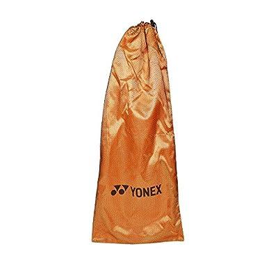 Yonex VCORE DUEL G97 ALFA Printed Strung Tennis Racquet (Black & Orange)