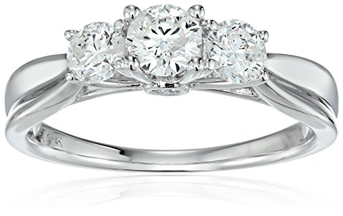 14k-White-Gold-Diamond-Engagement-Ring-1carat-H-I-Color-I1-I2-Clarity-Size-7