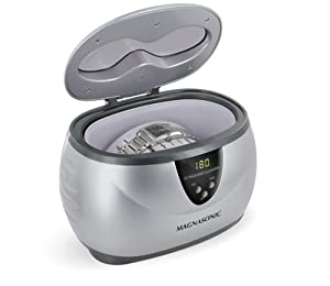 Magnasonic MGUC500 Professional Ultrasonic Jewelry & Eyeglass Cleaner With Digital Timer