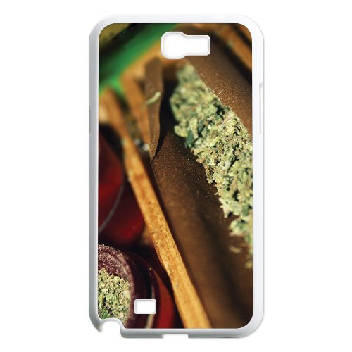 Generic Mobile Phone Cases Cover For Samsung Galaxy Note 2 Case N7100 Country American Flag Marijuana Cannabis Weed Hemp Leaf Smoker Design Custom Made Hard Snap On Cell Phones Shell Protect Skin