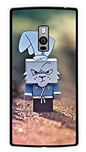 """Humor Gang Cartoon Rabbit Box Printed Designer Mobile Back Cover For """"OnePlus Two"""" (2D, Glossy, Premium Quality Snap On Case)"""