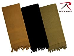 COYOTE BROWN SOLID COLOR SHEMAGH-TACTICAL DESERT SCARF