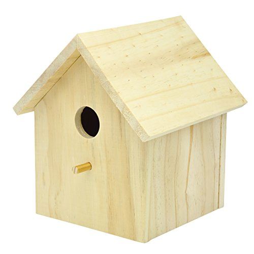 how to make a wooden birdhouse