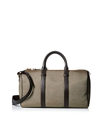 Tom Ford Men's Tote Bag, Tan/Dark Brown