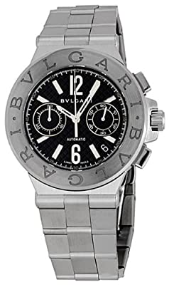 Bvlgari Diagono Chronograph Automatic Mens Watch DG40BSSDCH from Bvlgari