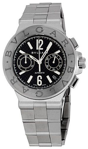 Bvlgari Diagono Chronograph Automatic Mens Watch DG40BSSDCH