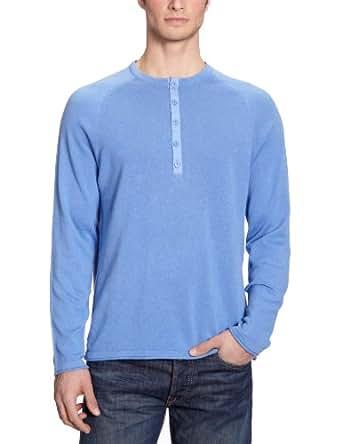 Eddie Bauer Herren Pullover 0424823, Gr. 44/46 (S), Blau (Blau)