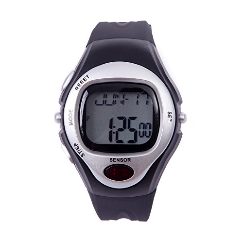 HDE Fitness Sport Pulse Sensor Watch with Heart Rate Monitor and Calorie...