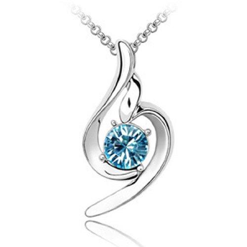 Boxingcat Fine Jewelry Swarovski Style Clear Austrian Crystal Pendant Necklaces Bgca1160 front-329664
