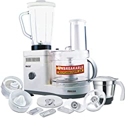 Inalsa Maxie Classic 600 -Watt Food Processor