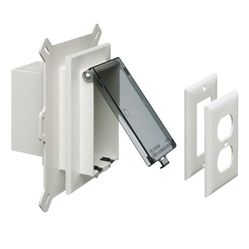 arlington-dbvs1c-1-recessed-outlet-box-wall-plate-kit-for-new-vinyl-siding-construction