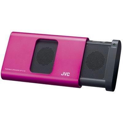 Jvc Spa130Pn Compact Portable Speaker (Pink)