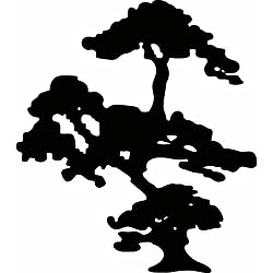 RoomMates RMK2300SLM Bonzai Tree Peel and Stick Giant Wall Decal