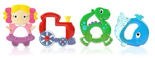 Nuby Easy Teethe Teether - Dinosaur - 1