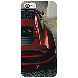 Printland Car Back Cover For Apple iPhone 5S