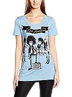 Love Moschino Camiseta Manga Corta (Azul Claro)