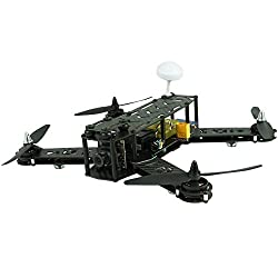 ARRIS X-Speed FPV 250 Racer Mini Drone Pure Carbon Fiber RC Quadcopter ARF W/ (ARRIS 2204 Motor + ARRIS 6045 Propeller) (Assembled)[...]