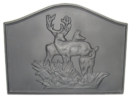 Best Review Of HomComfort CIFBDR Deer Cast Iron Fireback Plates