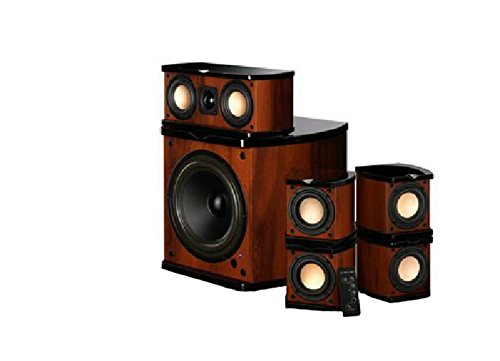 M20-5.1Mkii2 Desktop Pc Multimedia Home Theater Speaker 5.1 Sound Wood Subwoofer