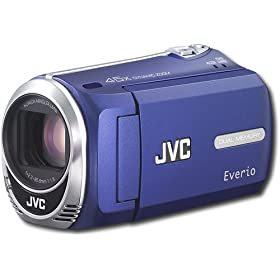 JVC GZ-MS240 Everio S 16gb Flash Memory Digital Camcorder - Blue