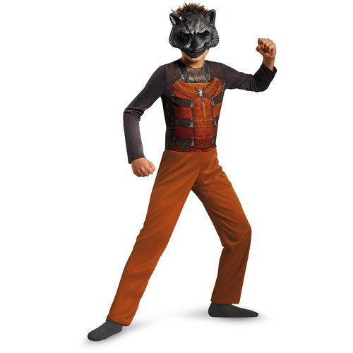 Guardians of the Galaxy Rocket Raccoon Classic Costume Size Small 4-6