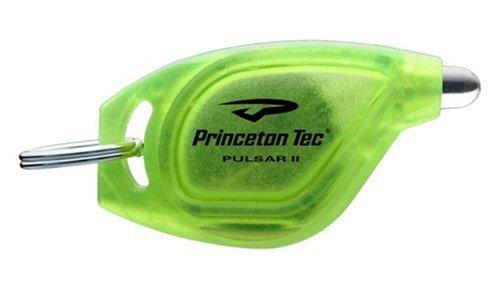 Princeton Tec Pulsar II White LED Key Chain Light (Green Body)
