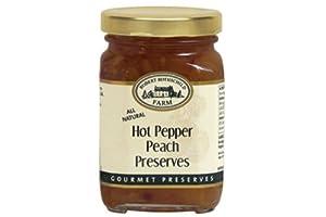 Hot Pepper Peach Preserves