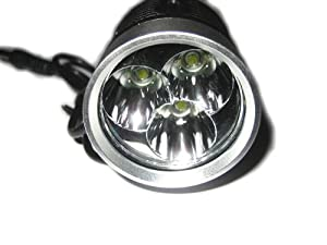 New Highly Super Bright 3x Cree Xml T6 Led Bicycle Headlight 4 Modes 3800 Lumens + Battery + Charger