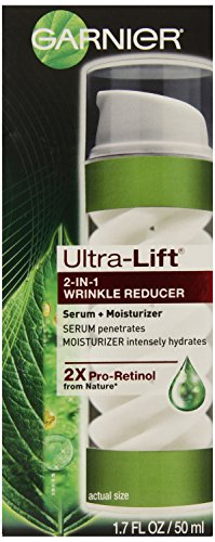 Garnier Ultra-Lift 2-in-1 Wrinkle Reducer Serum and Moisturizer