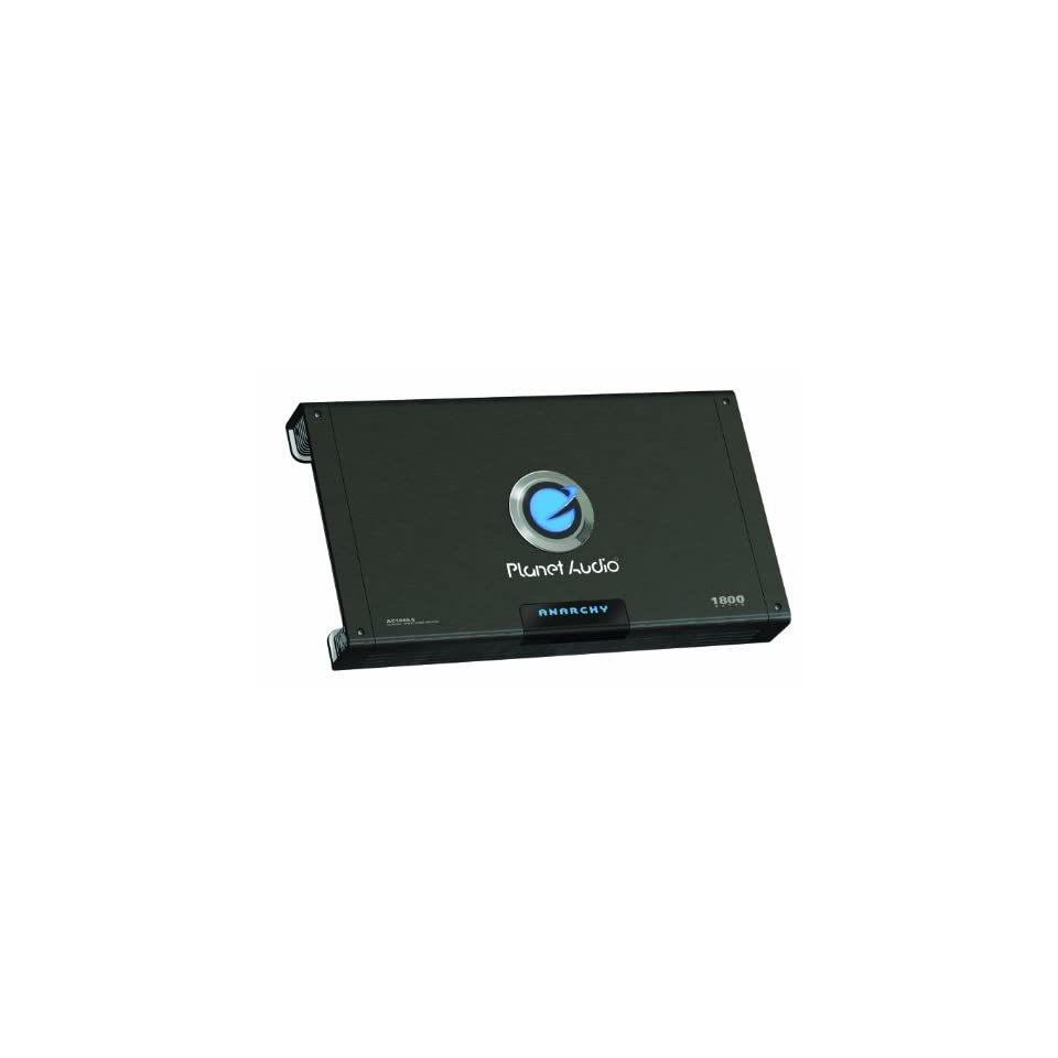 Planet Audio AC1800.5 MOSFET Five-Channel Power Amplifier 300 Watts x 4 600 Watts x 1 MAX Power