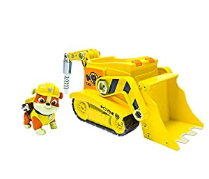Nickelodeon, Paw Patrol - Rubble's Digg'n Bulldozer, Vehicle and Figure