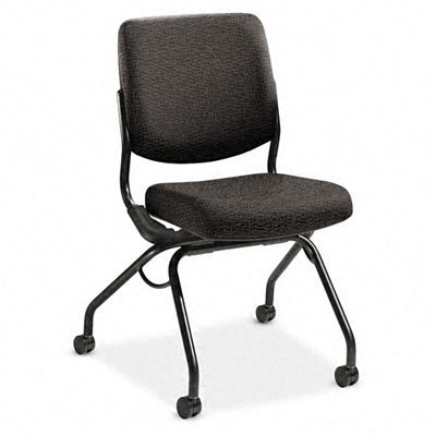 Hon Perpetual Mobile Nesting Chair, Iron Upholstery back-61102
