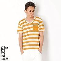 カスタムカルチャー(CUSTOM CULTURE) Tシャツ(レイヤー用ボーダーTシャツ