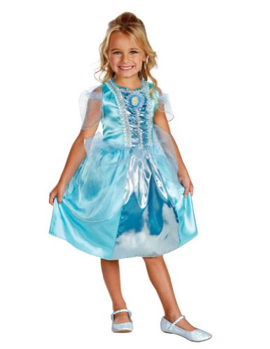 Cinderella Sparkle Toddler Halloween Costume Classic 3t-4t -Disguise