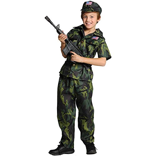 Army Commando Kids Costume