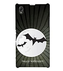 EPICCASE happy walloween Mobile Back Case Cover For Sony Xperia Z1 (Designer Case)