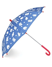 Robot Print Colour Change Umbrella