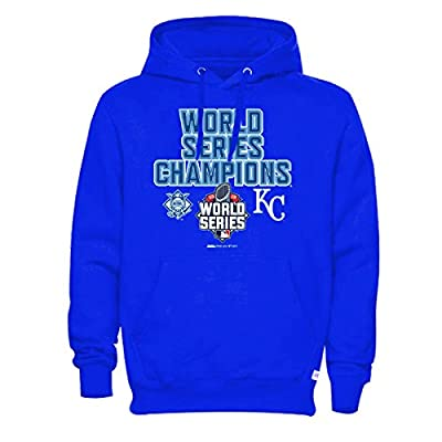MLB Kansas City Royals Men's 2015 World Series Champions Pullover Fleece Hood