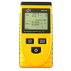 BENETECH GM3120 LCD Display Electromagnetic Radiation Detector EMF Meter Tester the detection of the electric field, magnetic field from Benetech
