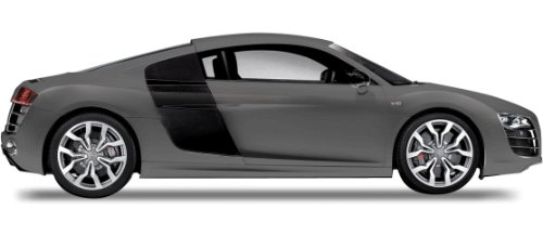 1:24 Maisto Tech Audi R8 V10 2009 Model Charcoal Remote Control Car1:24 Maisto Tech Audi R8 V10 2009 Model Charcoal Remote Control Car