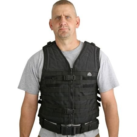 Colt Tactical Gear Black Heavy Duty Nylon Molle Vest