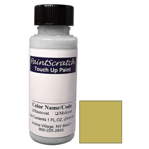 1 Oz. Bottle of Medium Suede Metallic Touch Up Paint for 1988 Dodge Ram Pickup (color code GK4/DT6633) and Clearcoat