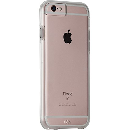 Case-Mate Tough Naked Case for iPhone 6 Plus/6s Plus - Clear w/ Clear Bumper