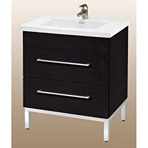 DAYTONA 30 TWO DRAWERS VANITY FOR CERAMIC SINK TOP Bathroom Vanities Amaz