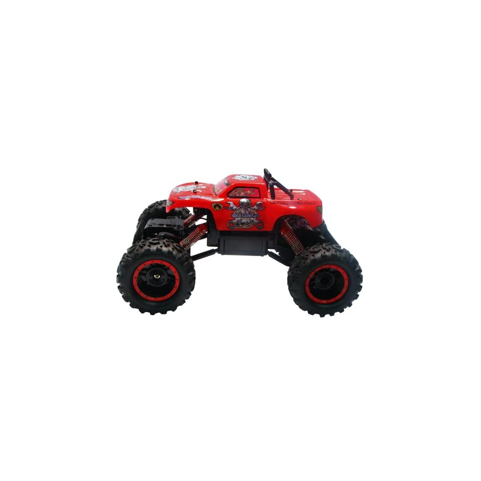 Remote Control Wiki Rally Off Road   Crawler 110   Ready to Run Color Red