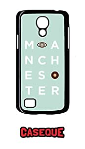 Caseque Manchester Back Shell Case Cover for Samsung Galaxy S4 Mini